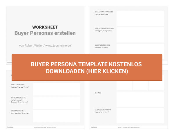 Buyer Persona Template (Download)