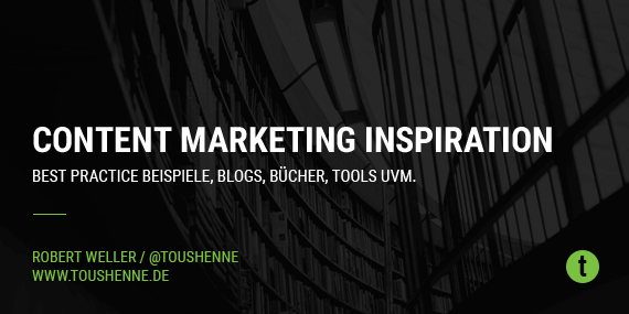 Content Marketing Inspiration