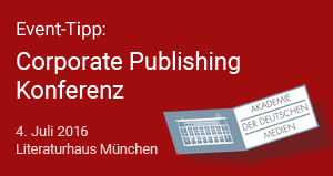 Corporate Publishing Konferenz