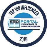 Top Influencer 2016 (SEO Portal)