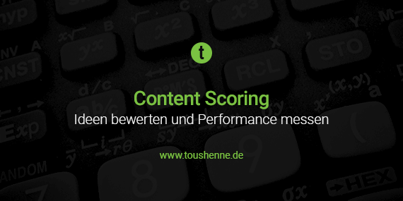Content Scoring Guide
