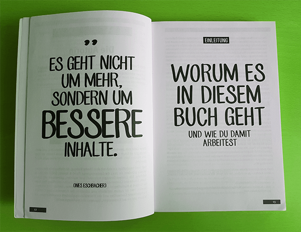 Das Content Marketing Workbook von Ines Eschbacher