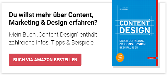 Content Design über Amazon bestellen