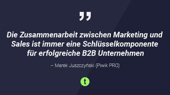 Britta Behrens Marek Juszczyński über data-driven Marketing - toushenne