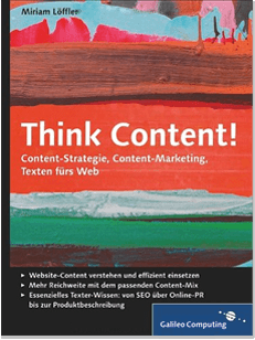 Think Content! Buchcover