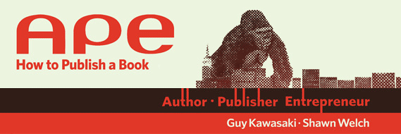 APE - Author, Publisher, Entrepreneur