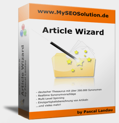 Article Wizard von Pascal Landau
