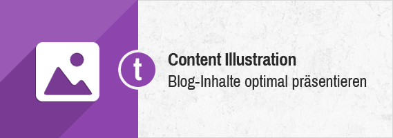 Blog Content optimal illustrieren