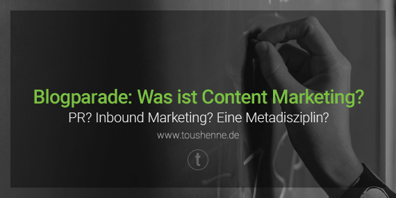 Content Marketing Blogparade
