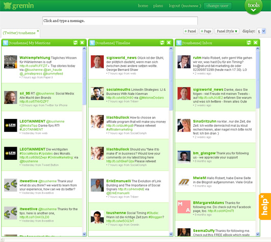 Gremln Social Media Management Dashboard