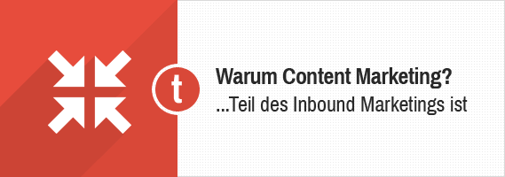 Content Marketing als Teil des Inbound Marketing Prozesses