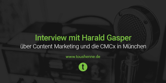 Interview mit Harald Gasper