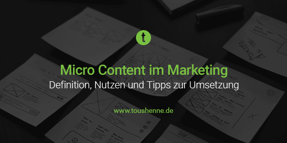 Micro Content im Marketing