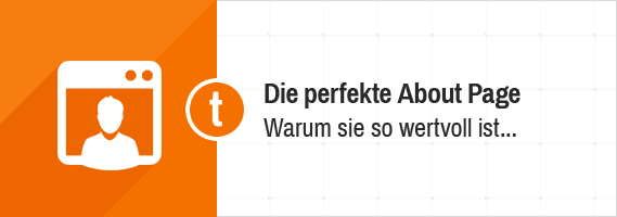 Die perfekte About Page