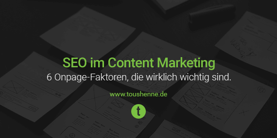 SEO im Content Marketing