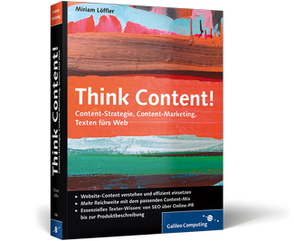 Think Content! Buch