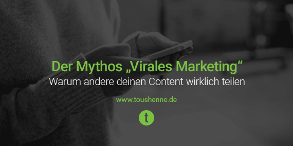Virales Marketing - Content Sharing
